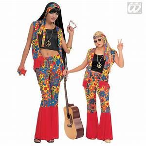 Hippie Look 70er : siebziger jahre look flowerpower kost m ~ Frokenaadalensverden.com Haus und Dekorationen