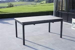 Table D Extérieur : table d 39 ext rieur polywood gris 8 10 places meubles de jardin ~ Teatrodelosmanantiales.com Idées de Décoration