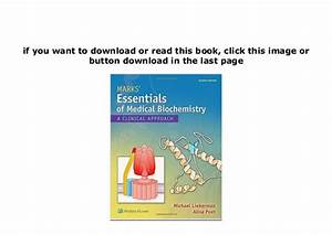 R E A D  Library Marks Essentials Of Medical Biochemistry