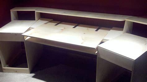 recording studio desk plans pdf plans home studio desk plans download diy how to build
