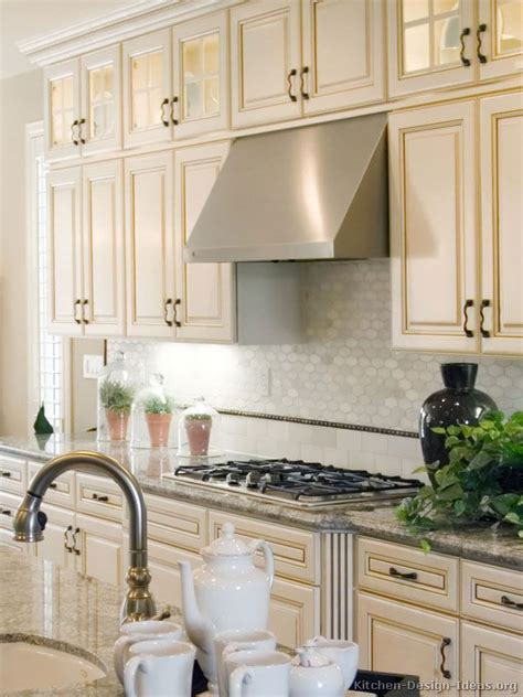 73 Best Antique White Kitchens Images On Pinterest