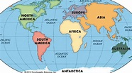 Continents Song - YouTube
