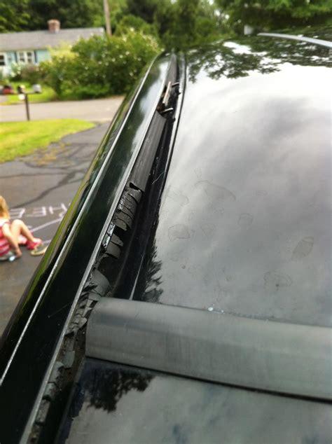windshieldroof worn rubber trim volvo forums volvo