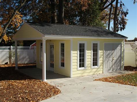 tuff shed studio home office premier pro garage 16x24 by tuff shed