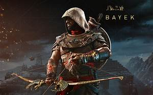 Wallpaper Assassin's Creed: Origins, Bayek, The Hidden ...