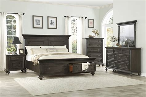 Platform Bedroom Set by Homelegance Hillridge Platform Bedroom Set 1606 Bed Set
