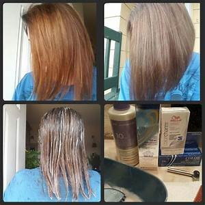 Orange Hair Do Care I Corrected It By Using 1 2 Ratio Of