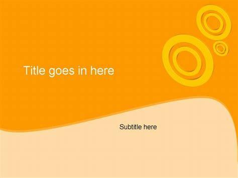 circles orange