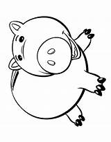 Coloring Toy Ham Colouring sketch template