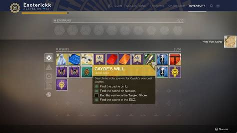 all 4 cayde s cache locations ace of spades quest