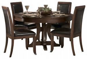 Homelegance Avalon 54 Inch Round Pedestal Dining Table In