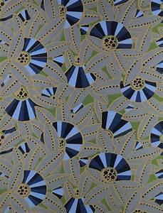 Papier Peint Art Nouveau : papier peint motif de style art nouveau eventails ~ Dailycaller-alerts.com Idées de Décoration