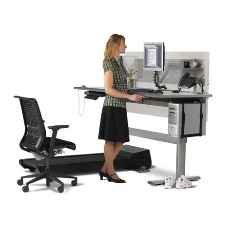 desk that goes up and down sit to walkstation treadmill desk