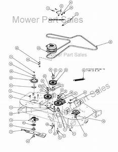 Cub Cadet Z Force 50 Drive Belt Diagram