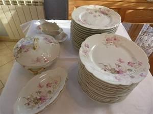 Service Vaisselle Porcelaine : service limoges ancien occasion clasf ~ Teatrodelosmanantiales.com Idées de Décoration
