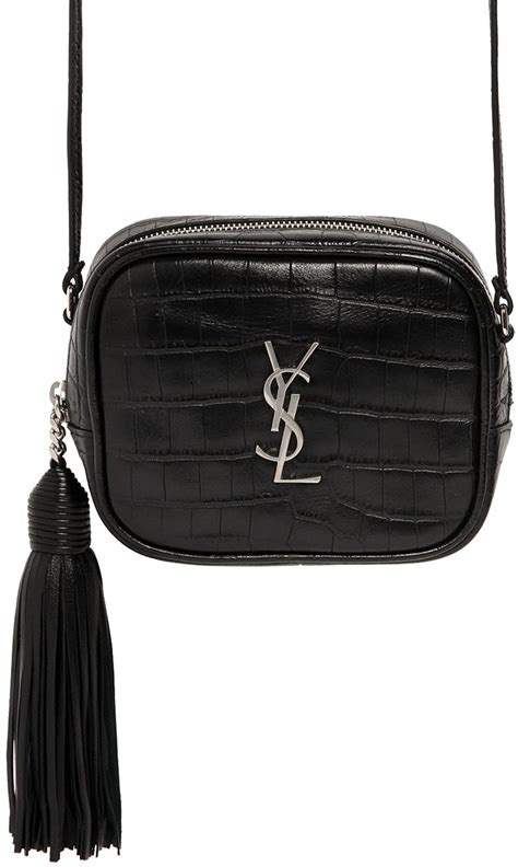 saint laurent croc embossed monogram blogger bag bragmybag