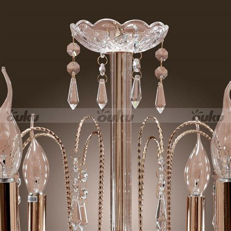 Clearance Chandeliers - 9 light style chandelier k9 with