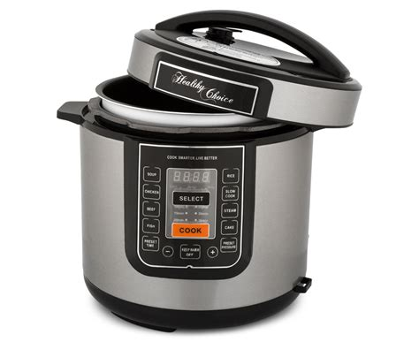 slow pressure cooker choice 6l catch