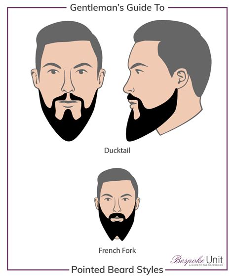 Best Pointed Beard Styles How To Grow A Ducktail And French
