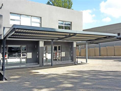 designer cantilever carport ecospan carports shadeports solar carports