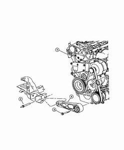 Jeep Patriot Isolator  Strut  Torque Reaction