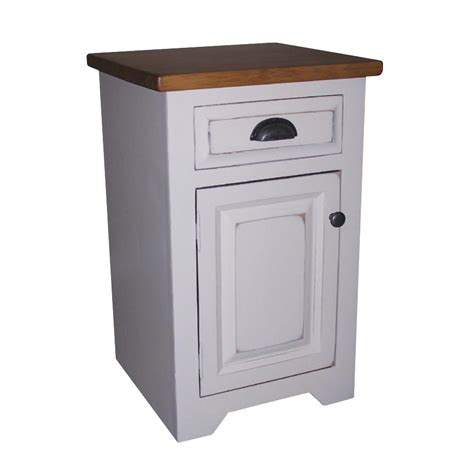 rustic pine dining true north night stand home envy furnishings solid wood