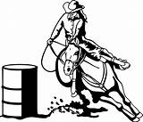Barrel Racing Clipart Clip Clipground Help sketch template