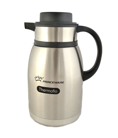 They all have one thing in common, and that is the method of drawing water up, through the coffee grounds, then back down as a clean cup of coffee. Princeware Ibrik Stainless Steel Vacuum Coffee Pot 2000ML: Buy Online at Best Price in India ...