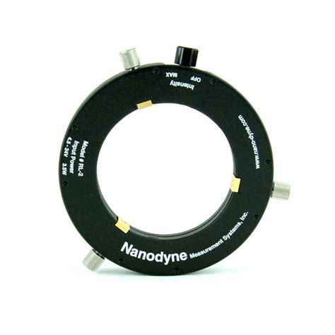 led ring light stereozoom microscope ring light nanodyne measurement
