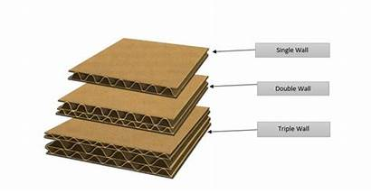 Wall Double Single Between Cardboard Difference Boxes