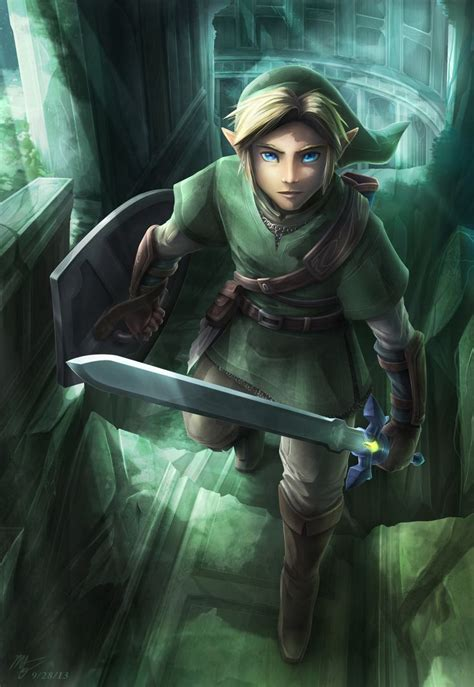 The Legend Of Zelda Twilight Princess Link The Hero In