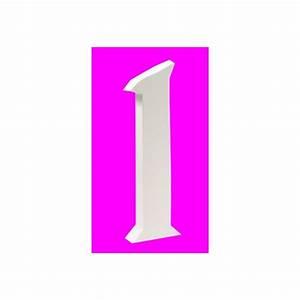Lettre En Carton À Peindre : lettre en carton 3d 1 maison pratic boutique pour vos loisirs creatifs et votre deco ~ Nature-et-papiers.com Idées de Décoration