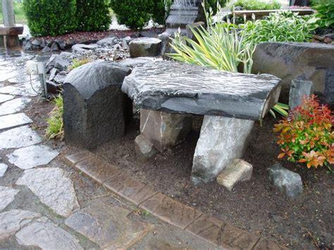 Rock Fountains, Benches, Yard Art  Sunrise Inc