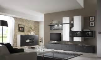 steinwand farbe wohnwand mit sideboard graphit matt weiss hochglanz woody 35 00034 ebay
