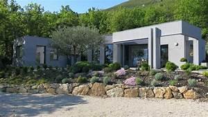 maison contemporaine avec piscine bellecombe tarendol With location buis les baronnies avec piscine