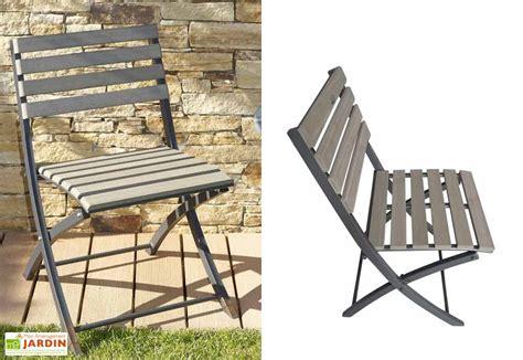 le bois de la chaise chaise jardin pliante bois composite chaise pliante