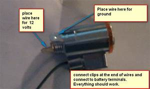 Cigarette Lighter Wiring Diagram