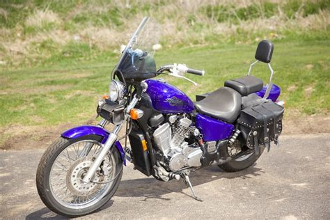 2005 Honda Shadow Vlx Motorcycle From Waukesha, Wi,today
