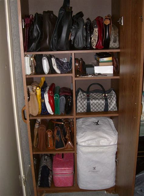 Purse Closet Organizer Pinterest  Home Design Ideas
