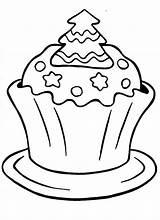 Cupcake Coloring Cupcakes Printable Sprinkles Unicorn Cartoon Tree Icolor Templates Drawing Adults Popular sketch template