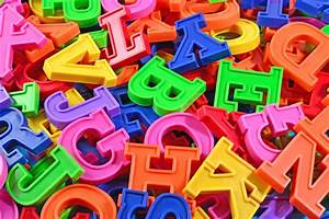 plastic alphabet letters jigsaw puzzle in macro puzzles on With acrylic alphabet letters