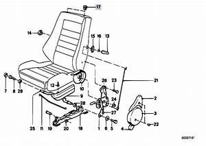 Original Parts For E30 316i M10 4 Doors    Seats   Recaro