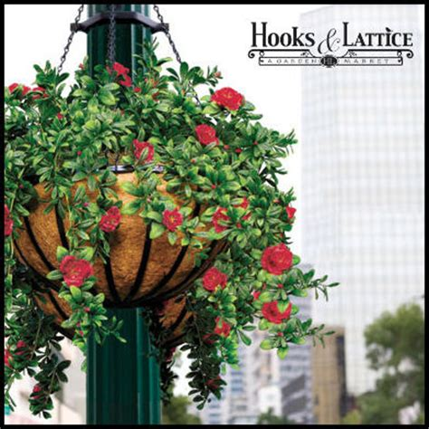 artificial flowers  hanging baskets faux flower hanging