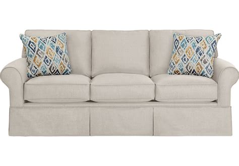 rooms to go sofas and provincetown linen sofa sofas beige