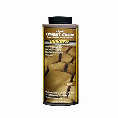 Quikrete Cement Liquid Brown Oz Depot