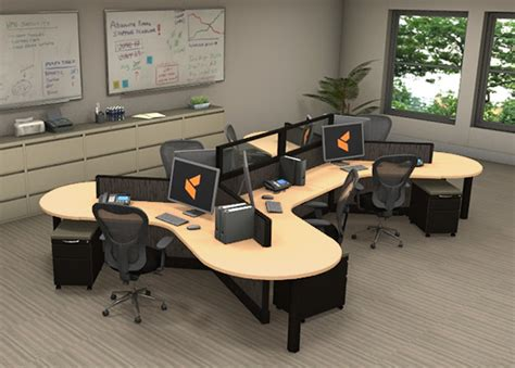 modern office cubicles modern office furniture 2 person cubicle workstation szws241 office workstations optima by cubicles com