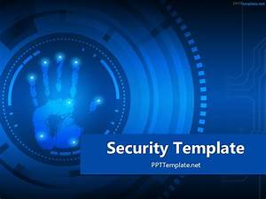 technology templates free it computer powerpoint slide With information security powerpoint template
