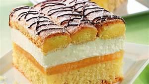 Apfel Blechkuchen Rezept : blechkuchen mit sahne und biskotten ~ A.2002-acura-tl-radio.info Haus und Dekorationen