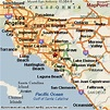 Santa Ana, California Area Map & More