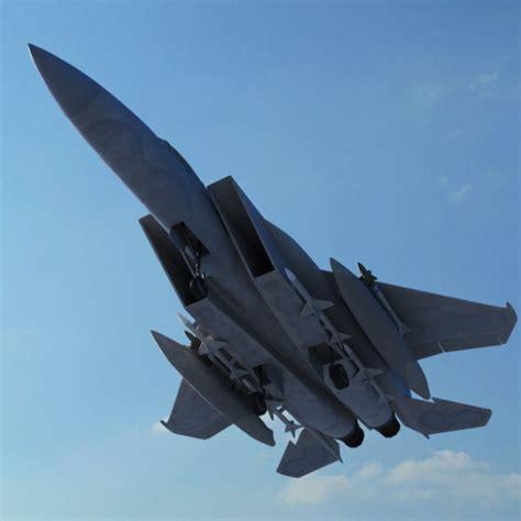 Realistic F15 Jet Fighter Plane 3d Max